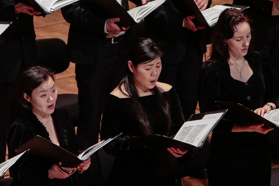 Sänger Chorakademie des WDR Rundfunkchores