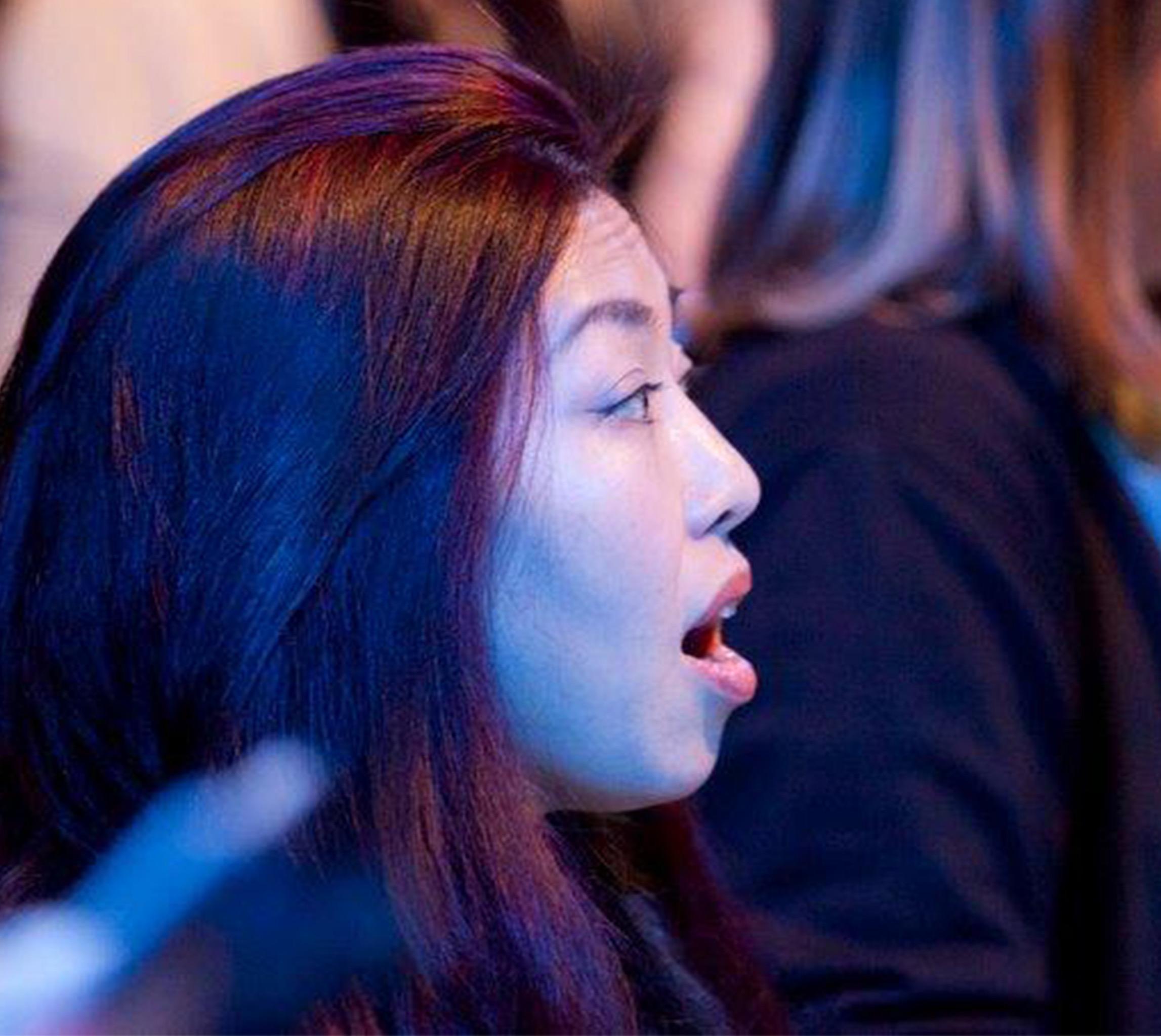 Sängerin der Chorakademie des WDR Rundfunkchores