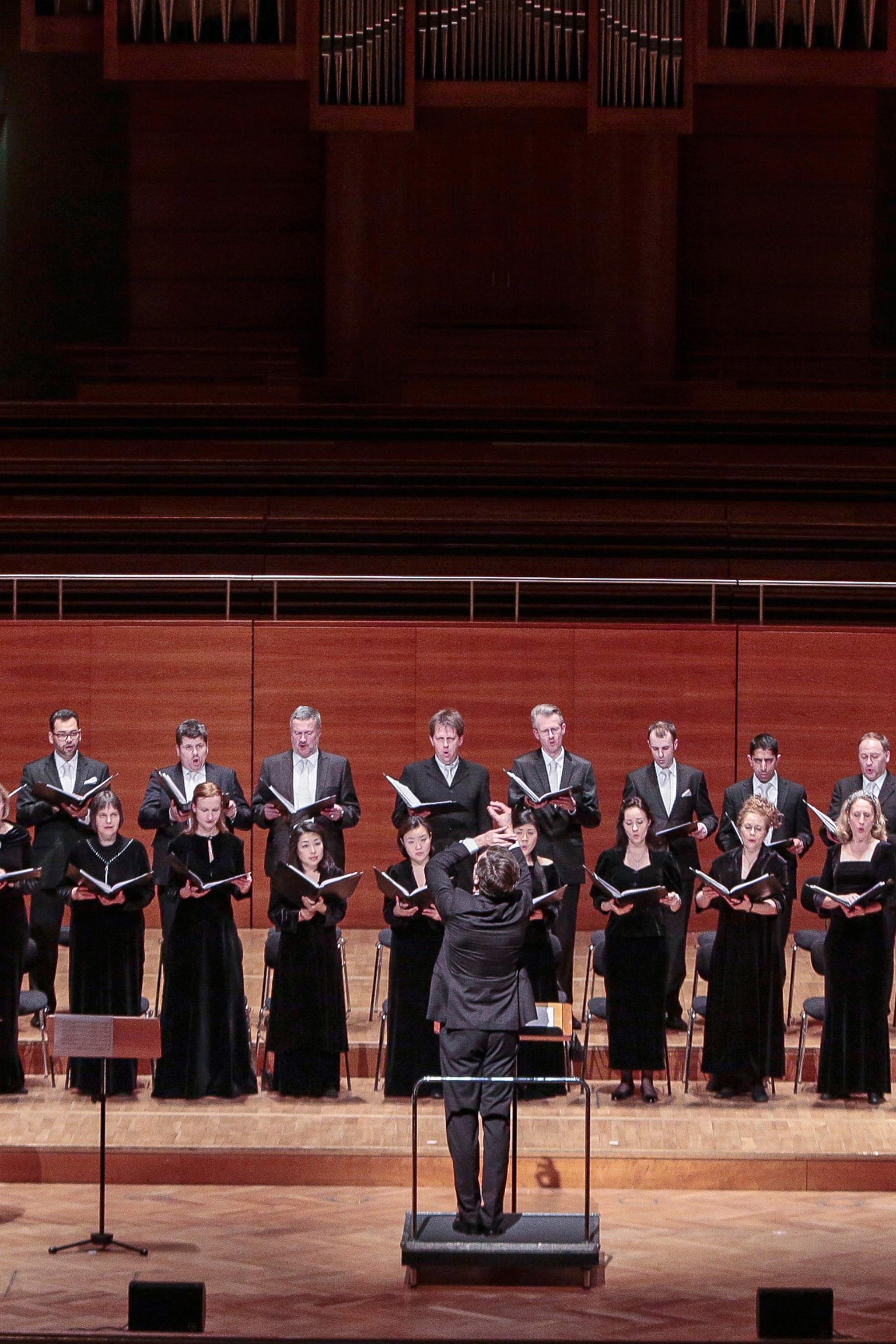 Chorakademie-Chor-Auftritt